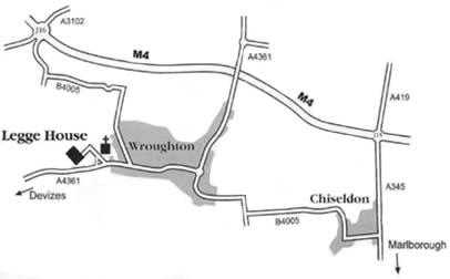 Legge House map