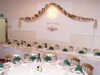 Wedding layout at Legge House